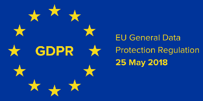 Adeguamento al General data protection regulation dell'UE (GDPR 2016/679)